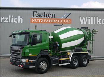 Betongbil Scania P 360 6x4, 7 m³ Intermix, Manuell, Hardox, Klima