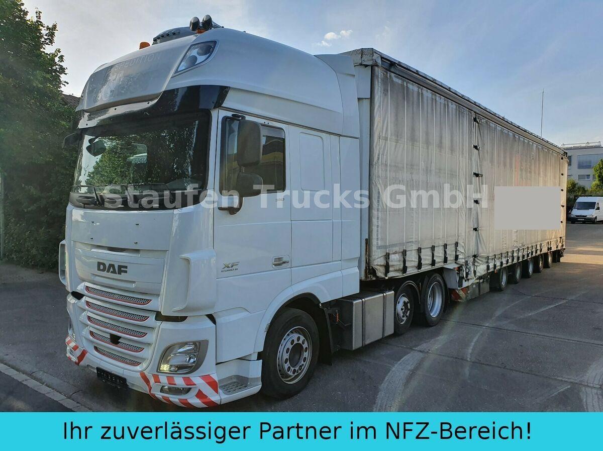 dragbil DAF 106 510 SSC MEGA ZUG Schwerlast 8 Achsen DINKEL