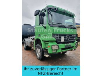Dragbil Mercedes-Benz Actros 2051  AS  4x4  Allrad V8 Kipph blat/steel
