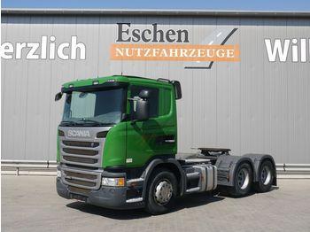 Dragbil Scania G 400, 6x4, Kipphydraulik, Manuell, Klima, EUR5