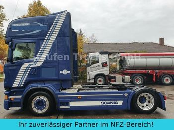 Dragbil Scania R 500  TOPLINE LOW MEGA deutsch. Auto TOP- Zust.