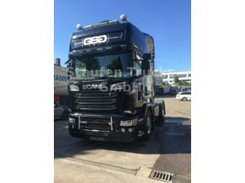 Dragbil Scania R 580 Topline 55 to GG ADR  VOLL !! TOPZUSTAND!