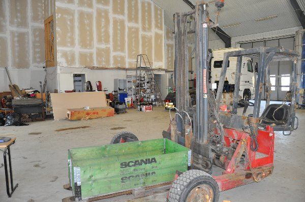 gaffeltruck KOOI Reachfork RR4 Lastbils Truck