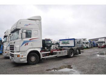 Containerbil/ växelflak lastbil SCANIA R480
