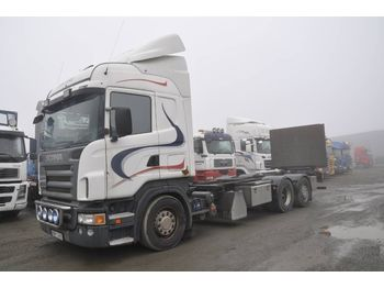 Containerbil/ växelflak lastbil SCANIA R500 LB MNB