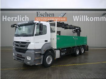 Flakbil Mercedes-Benz 2536 4x2 L Axor, Atlas 165.2, Lift/Lenk, EUR5