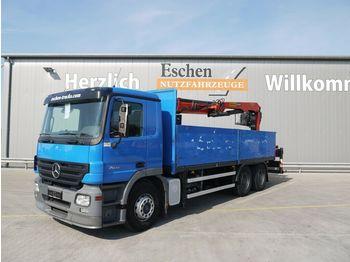 Flakbil Mercedes-Benz Actros 2641 L, 6x4, Palfinger PK 21001 L, Klima