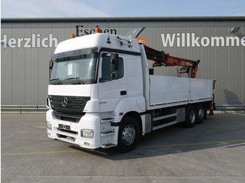 Flakbil Mercedes-Benz Axor 2543 L 6x2 Atlas 170.2, Klima, Schalter