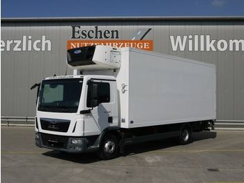 Kylbil lastbil MAN TGL 12.180, Carrier Supra 1250 MT, Diesel/Netz