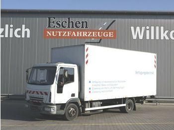 Lastbil med skåp Iveco 75 E 15 Koffer / LBW / Eurocargo / 3 Sitze /