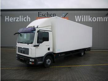 Lastbil med skåp MAN TGL 12.210 BL Koffer, Klima, Palfinger LBW