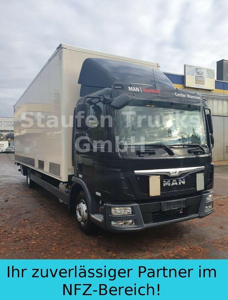 lastbil med skåp MAN TGL 12.250  8,14 m Koffer LBW Klima EURO 6