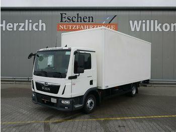 Lastbil med skåp MAN TGL 8.190 BL*Saxas Koffer*LBW*Klima*3 Sitze*AHK