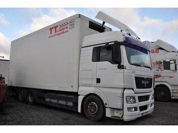 Lastbil med skåp MAN TGX 26.480