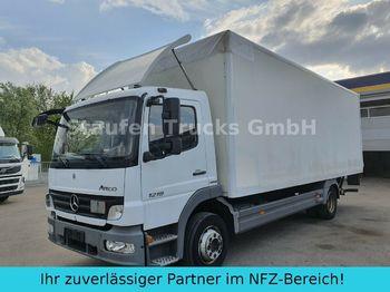 Lastbil med skåp Mercedes-Benz Atego 1218 L  Koffer LBW AHK  dt. Fzg TÜV 01/21