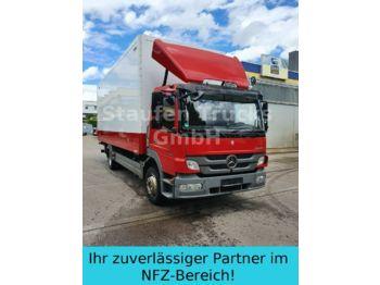 Lastbil med skåp Mercedes-Benz Atego 1224 Koffer Klima Standheiz.  LBW