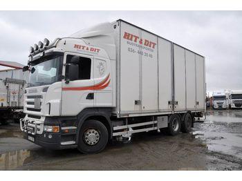 Lastbil med skåp SCANIA R420