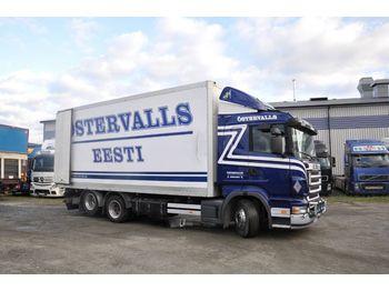 Lastbil med skåp SCANIA R420 LB MBL