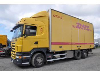 Lastbil med skåp SCANIA R480 6x2