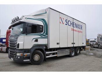 Lastbil med skåp SCANIA R500