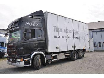Lastbil med skåp SCANIA R500LB6X2*4MNB