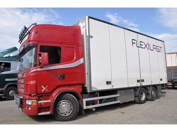 Lastbil med skåp SCANIA R580 6X2