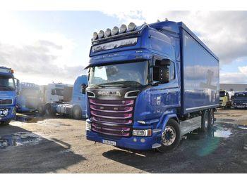 Lastbil med skåp SCANIA R 580 LB