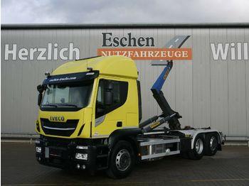 Lastväxlare lastbil Iveco AT260 S 42 6x2 Lift/Lenk, 132 TKM, Palfinger T20