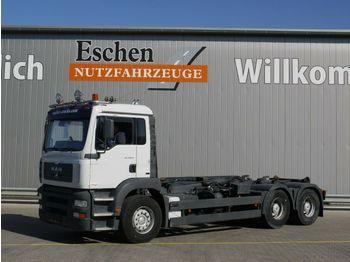 Lastväxlare lastbil MAN TGA 26.410 6x4, Atlas ARK 204 K
