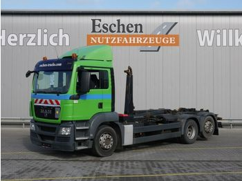 Lastväxlare lastbil MAN TGS 26.400 6x2-2 BL, Meiller RK 20.67, Bl/Lu