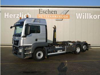 Lastväxlare lastbil MAN TGS 26.440 6x2-2BL, Palfinger T 20-31,  LX-Haus