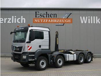 Lastväxlare lastbil MAN TGS 35.440 BL,EURO6,8x4, Palfinger  Abrollkipper