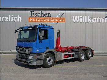 Lastväxlare lastbil Mercedes-Benz 2544 L, 6x2, Meiller RK 20.65, Klima, Bl/Lu