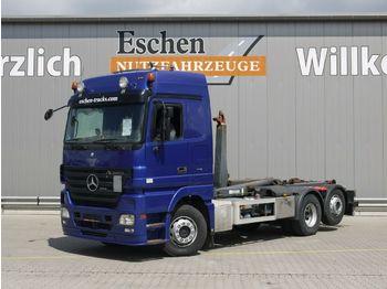 Lastväxlare lastbil Mercedes-Benz 2546 LL, 6x2, Meiller RK 20.65, Retarder