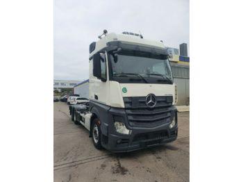 Lastväxlare lastbil Mercedes-Benz Actros 2545 HIAB Abroller Bigspace  E6 Intarder