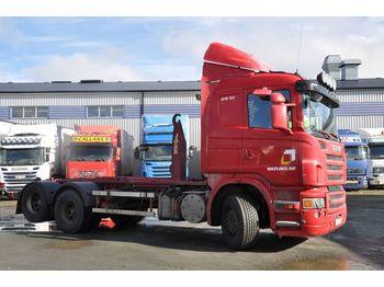 Lastväxlare lastbil SCANIA R480 LB 6X2 HHA
