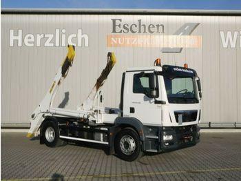 Liftdumper lastbil MAN TGM 18.290 BB, 4x2, Palfinger PST14 Tele
