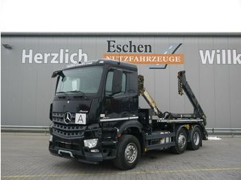 Liftdumper lastbil Mercedes-Benz Arocs 2540 L 6x2, 1. Hand, Meiller AK16t, Bl/Lu