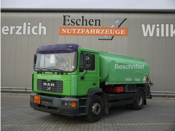 Tankbil lastbil MAN ME 18.250L, A3, Oben/Unten, 3 Kammer, ADD Anlage