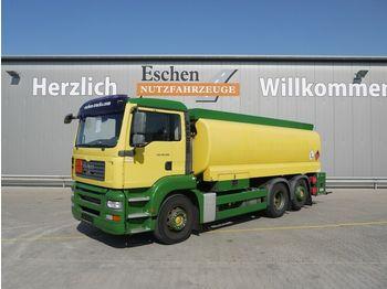 Tankbil lastbil MAN TGA 26.320 6x2 Lindner & Fischer A3, Oben/Unten
