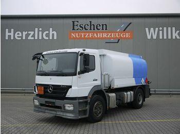 Tankbil lastbil Mercedes-Benz 1824 L Axor-R, Esterer A3 Bj. 09, 2 Kammer, LGBF