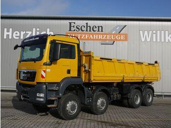 Tippbil lastbil MAN TGS 35.440 8x6BB Meiller 3-S-Kipper, Bordmatik