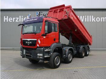 Tippbil lastbil MAN TGS 35.440 8x8 BB, Meiller 3-Seiten, Klima, EUR5