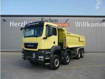 Tippbil lastbil MAN TGS 41.440 BB 8x8 Meiller Mulde, hydr. Klappe,AP