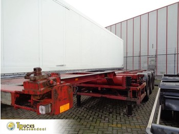 Broshuis 3UCC-39 + 3 axle + 2X EXTENDABLE 40FT HC - chassi semitrailer