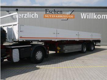 Flak semitrailer Ackermann PS 20/12.6, Luft, BPW, gelenkte Achse