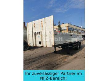 Flaktrailer Meusburger Pritschen SANH 2-ACHS   KURZ 9 M Mitn.stapler