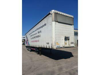Kapell semitrailer Schmitz Cargobull SCS 24 MEGA Tautliner Lifta. Hubdach verbr.3.5 m