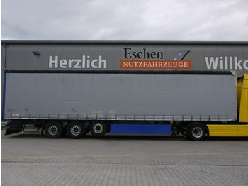 Kapell semitrailer Schmitz Cargobull Schiebeplane, Luft/Lift, Edscha, Palettenkasten