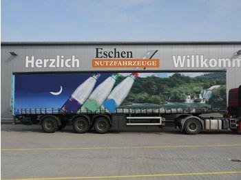 Kapell semitrailer Schröder, Plane, Dhollandia-LBW, Zwangslenkung